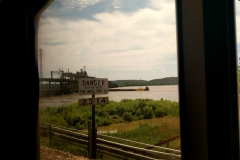 Amtrak train Scenery